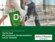 Tip-On-Cards - Axel Springer MediaPilot