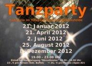 Tanzparty-2012 - Tanzschule Balance Arts