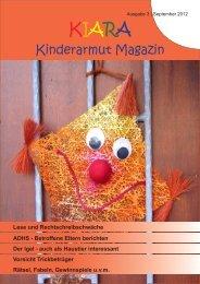 Ausgabe 3 - Kinderarmut - Armut der Kinder