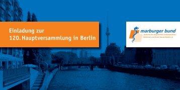 Ihre Teilnahmebestätigung per Post oder Fax - Marburger Bund