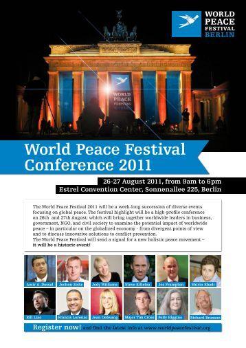 Day 2 - World Peace Festival