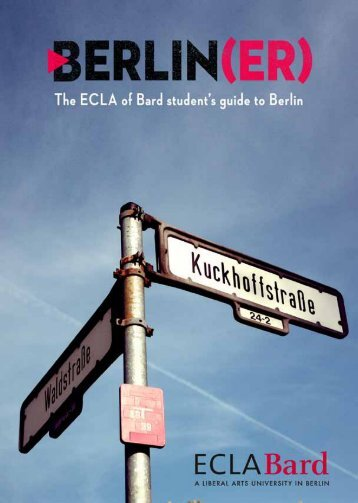 wilkommen in berlin! - European College of Liberal Arts, Berlin