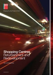 Shopping Centres Refurbishment and Redevelopment