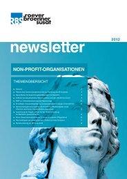 newsletter NPO - RBS RoeverBroennerSusat