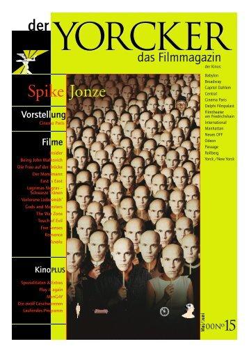 Yorcker Nr. 15 (Mai/Juni 2000) - Yorck Kino GmbH