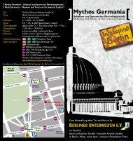 Mythos Germania - Berliner Unterwelten eV