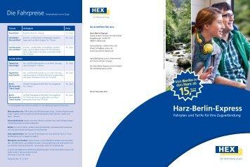 15,–Euro - Harz-Berlin-Express