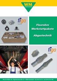 Flexrohre Werkstattpakete Abgastechnik - Wessels + Müller AG