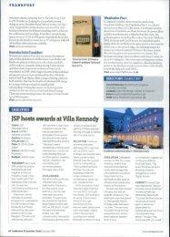)SP hosts awards at Villa Kennedy
