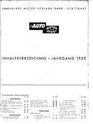 Genfer Salon 1955 - Auto Motor und Sport