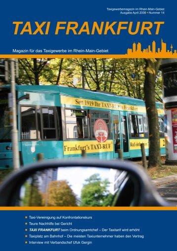 TAxi-Ausbildungs-ZenTrum - RMTV - Rhein Main Taxi Verband eV