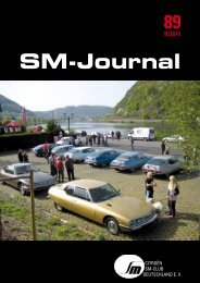SM-Journal - Citroen-SM-Club Deutschland e.V.
