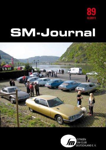 SM-Journal - Citroen-SM-Club Deutschland e.V.