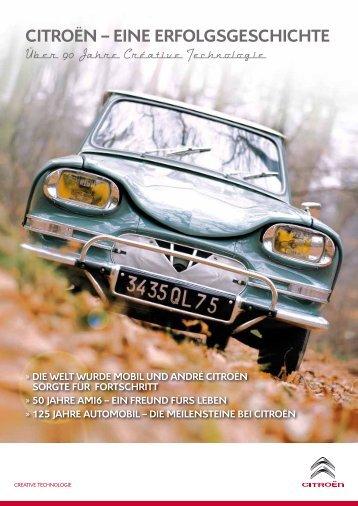 Citroën – eine erfolgsgesChiChte - Citroen DS-Club