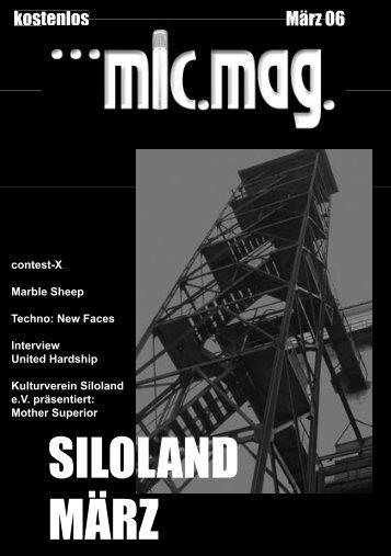 SILOLAND MÄRZ - Silo1