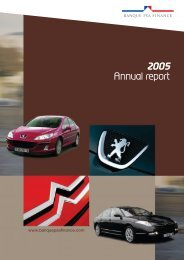 2005 Annual Report - Banque PSA Finance