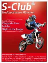 Fliegende Stars bei der Night of the Jumps - Stadtsparkasse München
