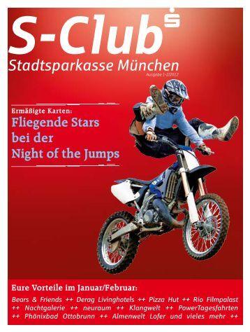 Fliegende Stars bei der Night of the Jumps - Stadtsparkasse München