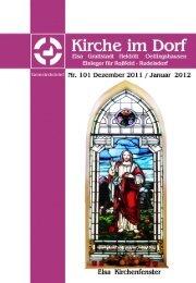 Dezember 2011 - Januar 2012 - Kirchspiel Elsa