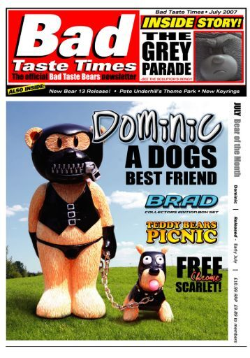 Page 1 Bad Taste Times I Jufy 2007 COLLECTORS EDITION BDN ...