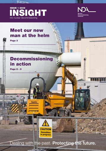 INSIGHT - Nuclear Decommissioning Authority