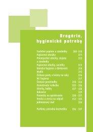 Drogéria, hygienické potreby - Custom Care