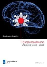 Hypophysenadenome - Fortbildung - UniversitätsSpital Zürich