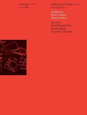 Gastdoz. Marco Graber, Thomas Pulver - ETH Zurich - ETH Zürich