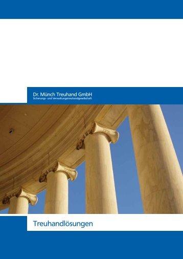 Download PDF Broschüre - Dr. Münch Treuhand GmbH