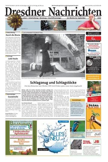 Schlagzeug und Schlagstöcke - Dresdner Akzente