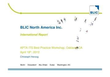 BLIC Presentation - American Public Transportation Association
