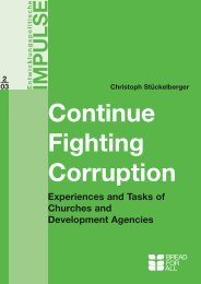 Continue Fighting Corruption - Christoph Stückelberger