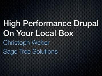 Christoph Weber Sage Tree Solutions
