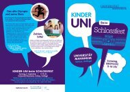 Flyer Kinderuni (PDF) - Universität Mannheim