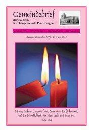34. Deutscher Evangelischer Kirchentag Hamburg 1.-5. Mai 2013