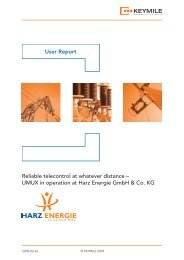 User Report Harz Energie - KEYMILE