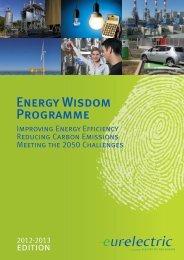 Energy Wisdom Programme Report (Edition 2012-2013) - Eurelectric