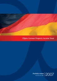 Alpha German Property Income Trust Limited