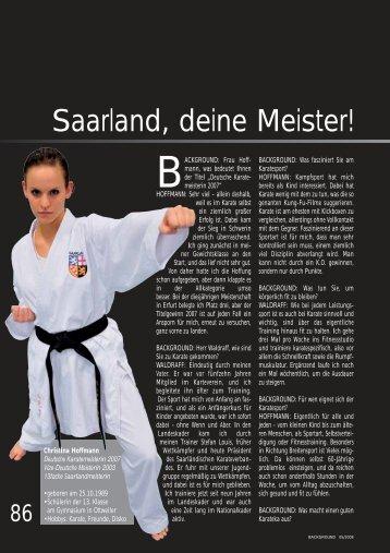 Saarland, deine Meister!