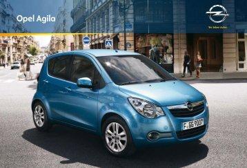 Opel Agila Katalog