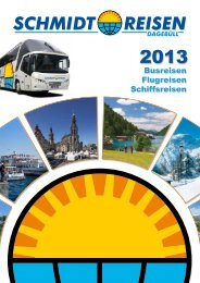 Download Schmidt-Reisen Katalog 2013