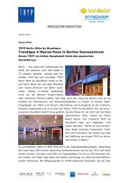 1028ak2 TRYP Berlin Mitte by Wyndham - W&P PUBLIPRESS