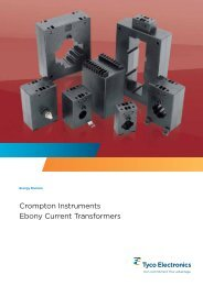 Crompton Instruments Ebony Current Transformers
