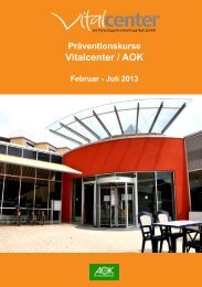 Präventionskurse Februar - Juli 2013 - Vitalcenter am Paracelsus ...