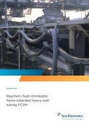 Raychem heat-shrinkable flame-retarded heavy ... - TE Connectivity