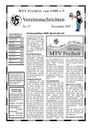 Pinbrett - MTV Freiheit