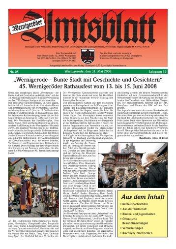 Wernigerode – Bunte Stadt mit Geschichte und Gesichtern