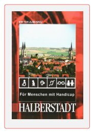 Fuer Menschen Mit Handicap Korrigirt - Halberstadt