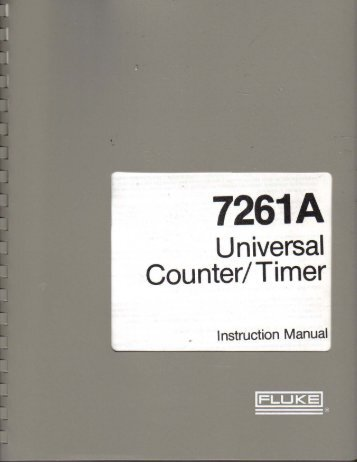 fluke 7261a ops & maint manual.pdf - K7JRL