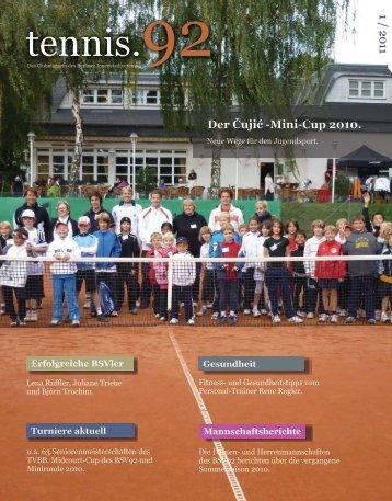 Der Čujić -Mini-Cup 2010. - Berliner Sport-Verein 1892 eV ...